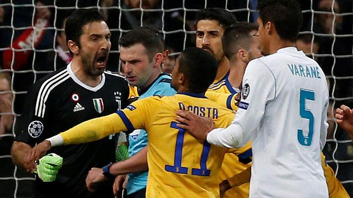 """Buffon criticó con todo al árbitro: """"Se ha querido hacer el protagonista, si no tiene personalidad debió quedarse en su casa"""""""