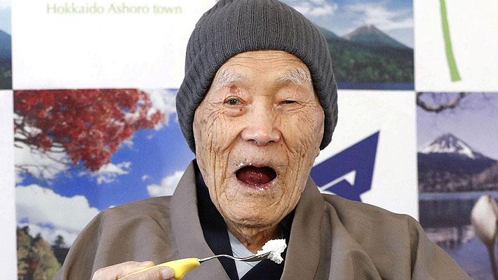 No fue el chileno Celino Villanueva: Japonés es reconocido como el hombre más longevo del mundo
