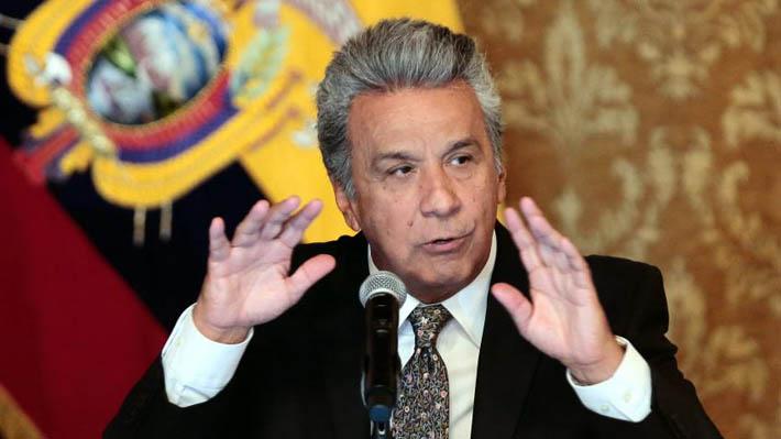 Presidente Moreno abandona de improviso la Cumbre de las Américas ante presunta muerte de periodistas secuestrados