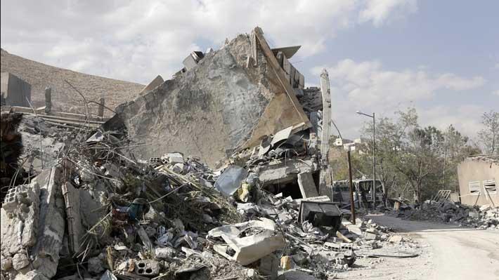 Mapa: Los tres lugares atacados por EE.UU. en Siria y qué habría en ellos