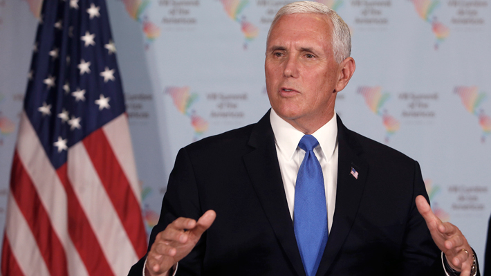 """Vicepresidente de EE.UU. advierte que su país está """"preparado"""" para volver a atacar Siria si es necesario"""