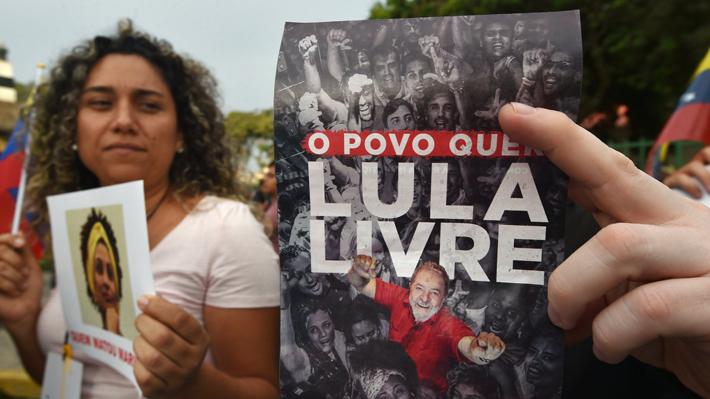 Tras ser detenido: Encuestas indican que Lula perdió votos pero sigue liderando la carrera presidencial