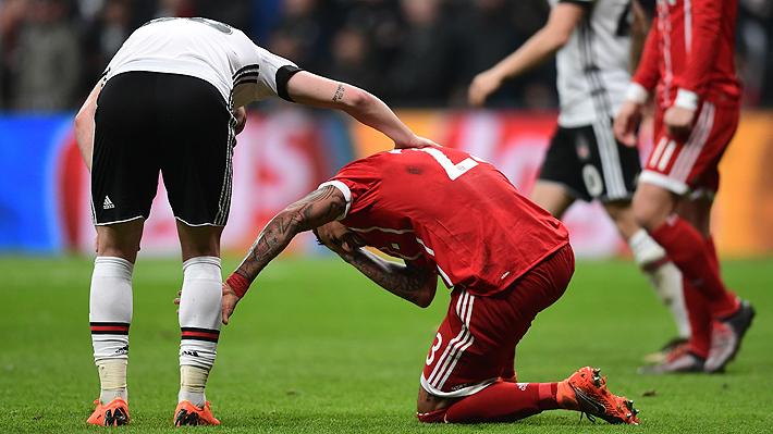 Arturo Vidal prende otra vez las alarmas: Sale lesionado en práctica del Bayern y peligra la Champions