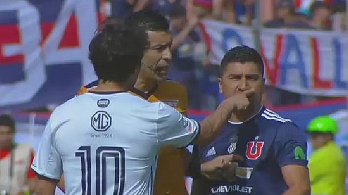 """Se dijeron """"borracho"""" y """"enano"""": El fuerte encontrón entre Pizarro y Valdivia durante el Superclásico"""