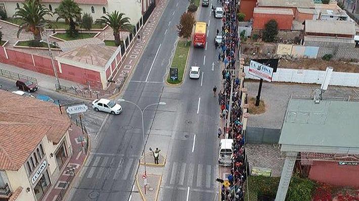 """Locura total por la """"Roja"""" femenina luego de que hinchas repletaron las calles de La Serena por entradas"""