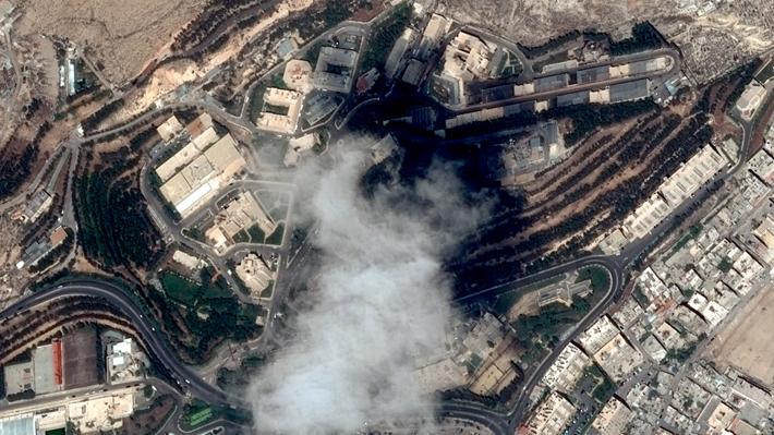 """OTAN dice que el ataque a Siria fue """"un mensaje a Rusia e Irán"""""""