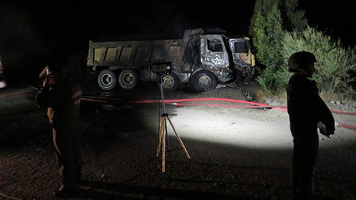 """Dueños de camiones piden audiencia a ministro Chadwick y advierten """"rebrote"""" de ataques en el sur"""