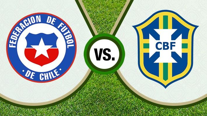 Reviva la derrota de Chile ante Brasil por el torneo continental