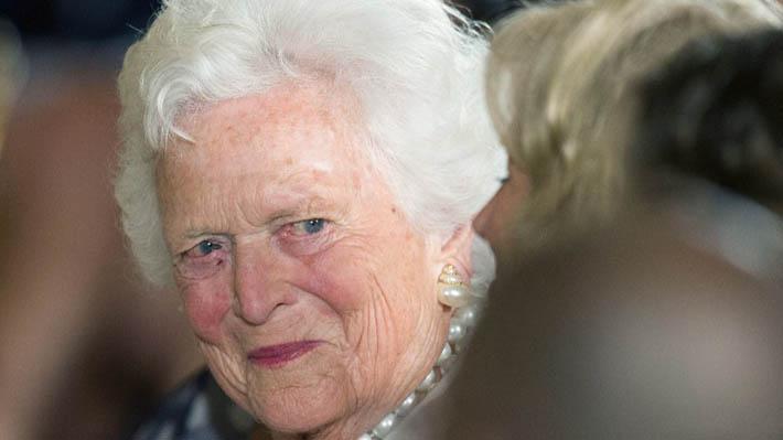 A los 92 años muere la ex primera dama de EE.UU. Barbara Bush