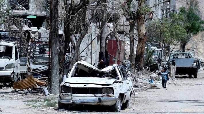 ONU negocia con Siria y Rusia sobre seguridad para expertos en armas químicas