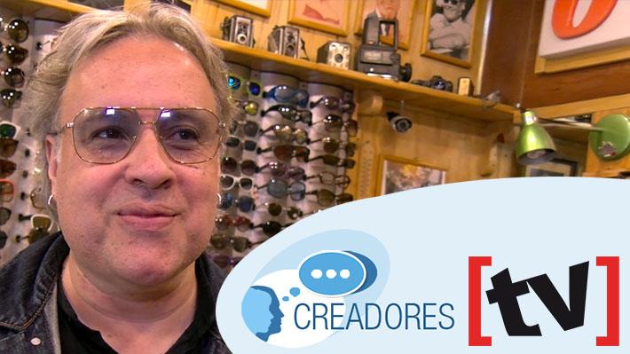 """#Creadores: Esteban Rojas y su moda """"kitsch"""" con el reciclaje de diseños de lentes antiguos"""