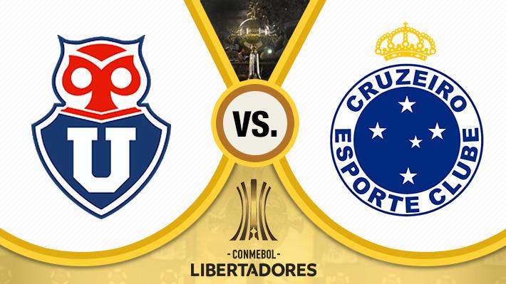Repasa el ajustado empate de la U ante Cruzeiro por la Copa Libertadores