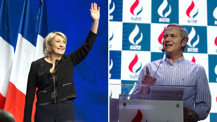 Inspiraci n francesa logo de acci n republicana de kast se asemeja al de agrupaci n nacional - Fundar un partido politico ...