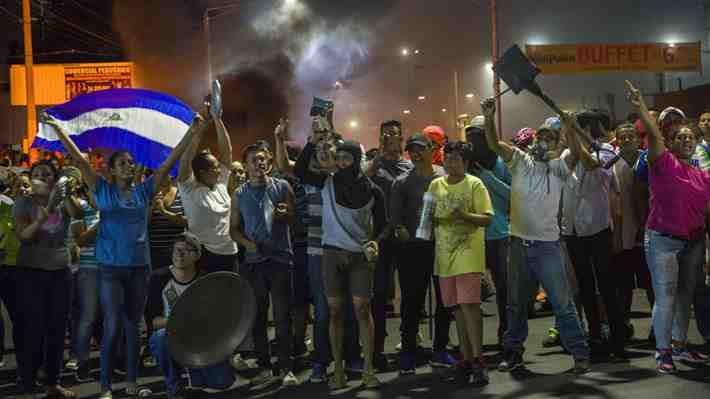Periodista muere de un disparo mientras transmitía protesta en vivo en Nicaragua