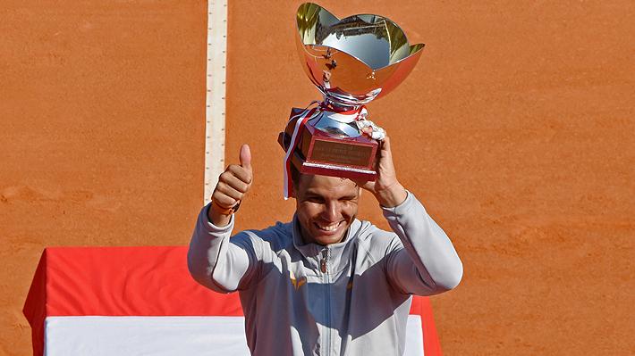 Nadal vence a Nishikori en la final y hace historia al ganar por 11.a vez el ATP de Montecarlo