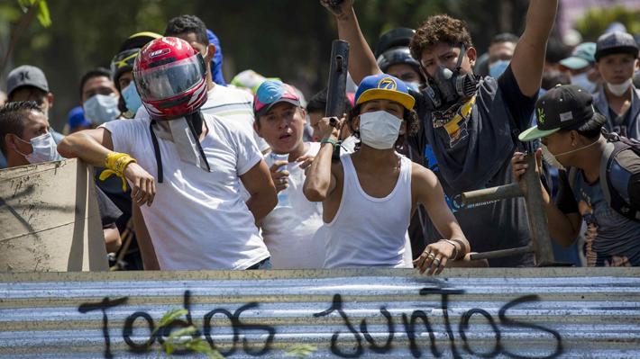 Gobierno de Chile y cinco países llaman urgentemente a deponer la confrontación y cesar los actos de fuerza en Nicaragua