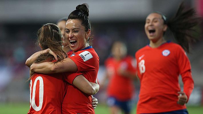 Colombia no puede con Brasil y Chile femenino hace historia al clasificar al Mundial y al repechaje de los JJ.OO.