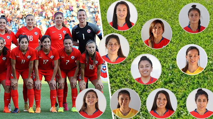 Conoce una a una y cuánto jugaron las 23 chilenas que hicieron historia en la Copa América Femenina