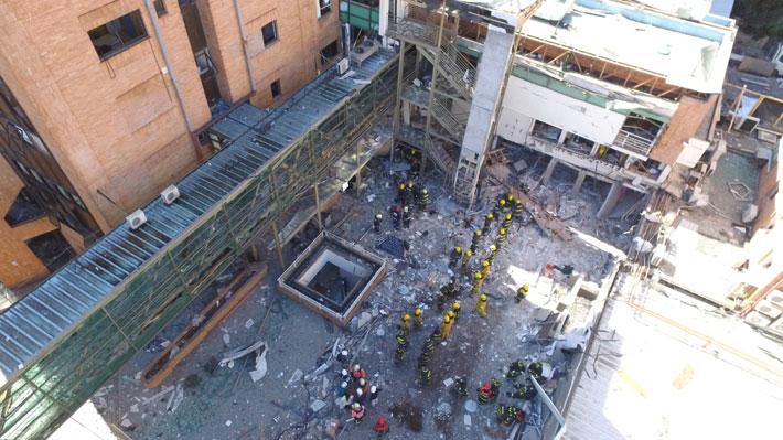 Tres fallecidos y decenas de heridos: Las dudas en torno a la explosión en el Sanatorio Alemán en Concepción