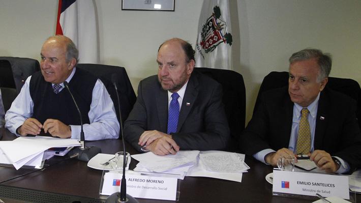 """Ministro Moreno por plan para La Araucanía: """"Las necesidades son muchas"""""""
