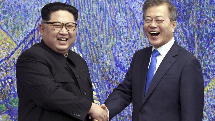 """""""Una nueva historia comienza ahora"""": Las frases que dejó la trascendental cita entre Kim Jong-un y Moon Jae-in"""