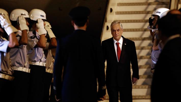 """Piñera: """"Yo tengo más de cien primos y hay uno solo que está en el gabinete"""""""