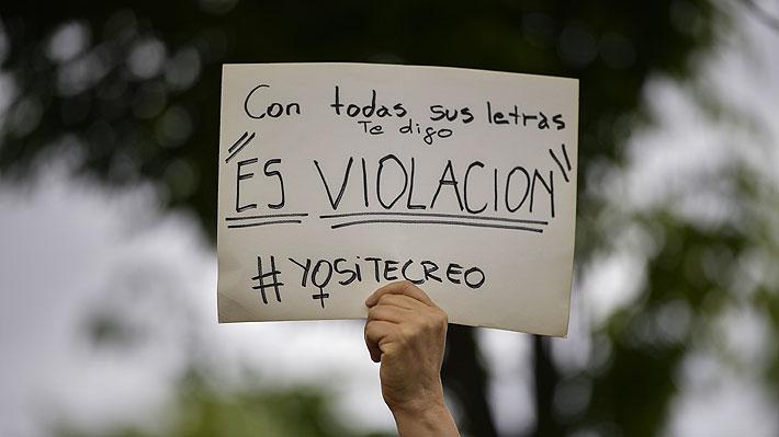 """""""No es no, el resto es agresión"""": Siguen las protestas en España por caso """"La Manada"""""""
