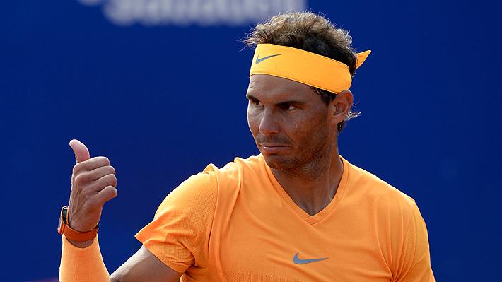 Nadal sigue imparable y ahora jugará la final del ATP de Barcelona contra Tsitsipas, a quien Garín le ganó hace un mes