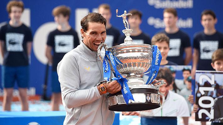 Rafael Nadal ganó por undécima vez el ATP de Barcelona al derrotar a Stefanos Tsitsipas, la sorpresa del torneo