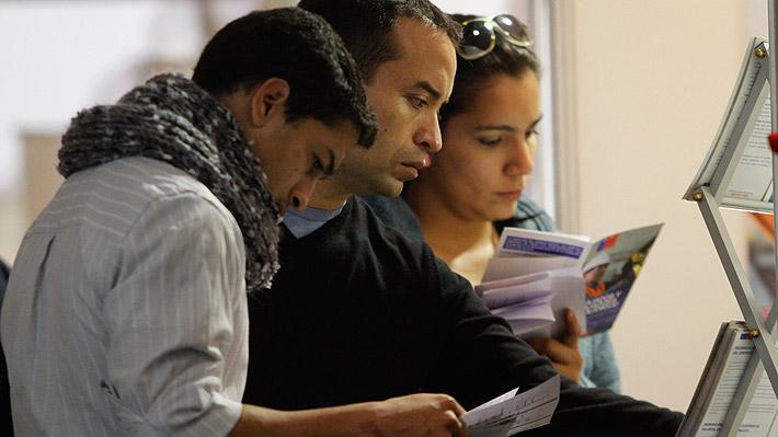 Desempleo en Chile sube nuevamente en trimestre enero-marzo y tasa se ubica en 6,9%