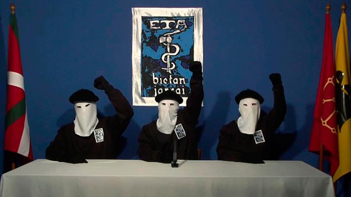 "Grupo vasco ETA anuncia la disolución completa de ""todas sus estructuras"""