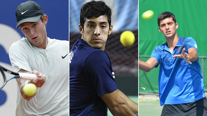 El meteórico ascenso de los tres primeros tenistas chilenos en el ranking y que los tiene en el mejor momento de sus carreras