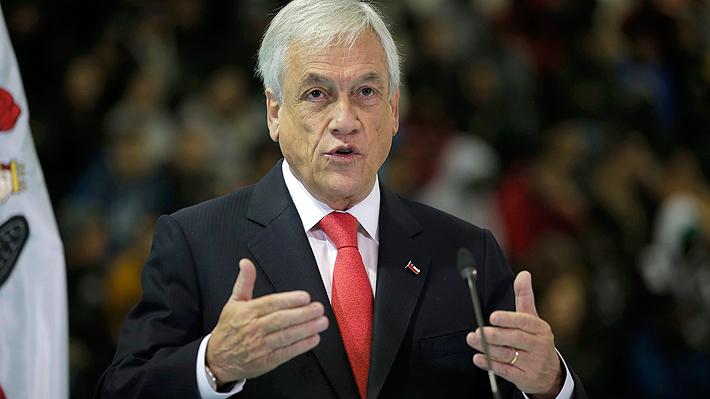 Piñera anuncia indicación para establecer la imprescriptibilidad total de los delitos sexuales contra menores