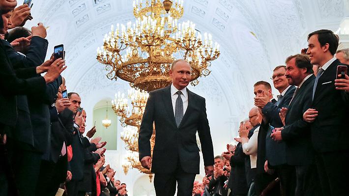 Vladimir Putin asume por cuarta vez la Presidencia de Rusia