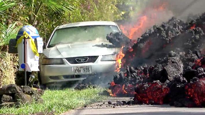 Galería: Las 10 fotos más impactantes que ha dejado la erupción del volcán Kilauea en Hawaii