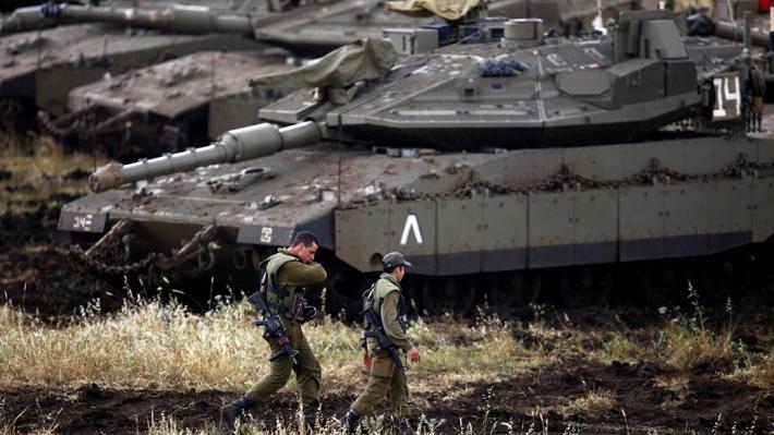Israel acusa a Irán de atacar sus fuerzas en los Altos del Golán con 20 misiles
