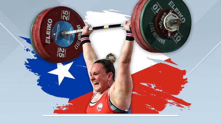 María Fernanda Valdés, campeona mundial de pesas, será la abanderada de Chile en los Juegos Odesur 2018