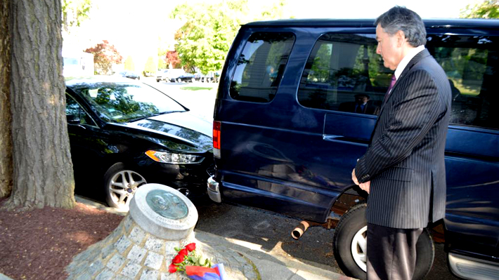 Canciller Ampuero rinde homenaje a Orlando Letelier y recalca que