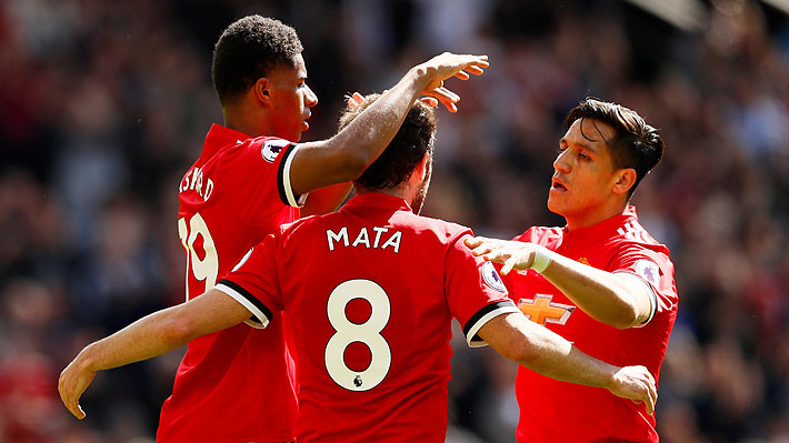 Alexis no brilló, pero el United cerró su temporada en la Premier con una victoria sobre Watford