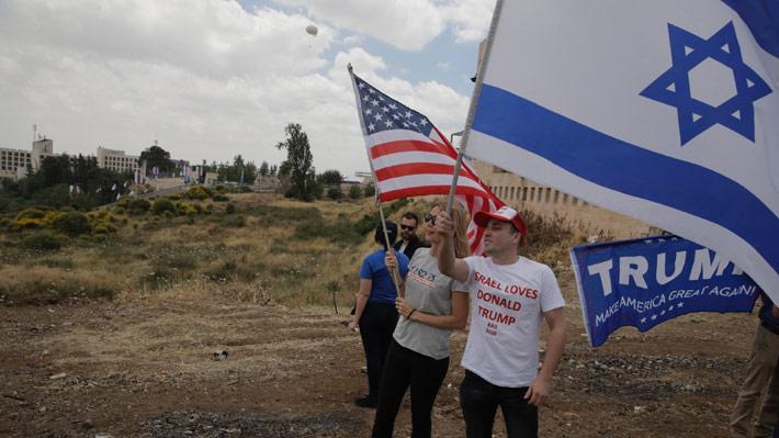 """Trump por inauguración de embajada de EE.UU. en Jerusalén: """"Israel es soberana y tiene derecho a fijar su capital"""""""
