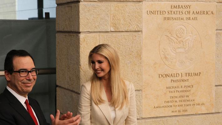 Histórico: Estados Unidos inaugura su nueva embajada en Jerusalén