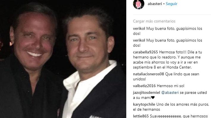 Hermano de Luis Miguel publica fotos inéditas de su desaparecida madre