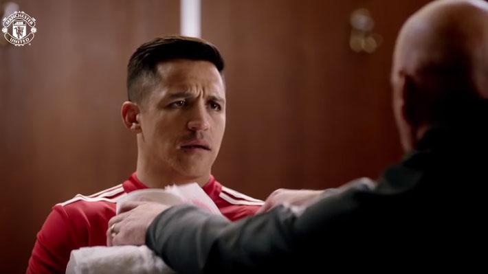 """Alexis Sánchez y sus compañeros del Manchester United protagonizan una nueva promoción de """"Deadpool 2"""""""