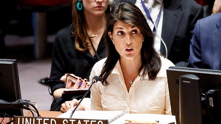 Embajadora de EE.UU. en la ONU afirma que Israel actuó con