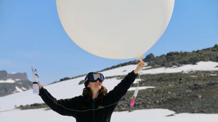 Chile enviará globos a la Antártica para sumarse a un proyecto mundial para estudiar el clima