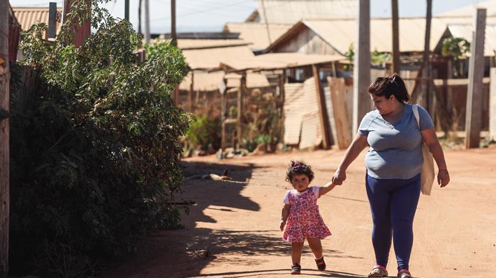 Retroceso de 30 años: cantidad de familias en campamentos equivale a la cifra de 1985
