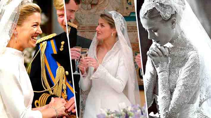 Galería: Revisa los vestidos de novia que han marcado algunas bodas reales