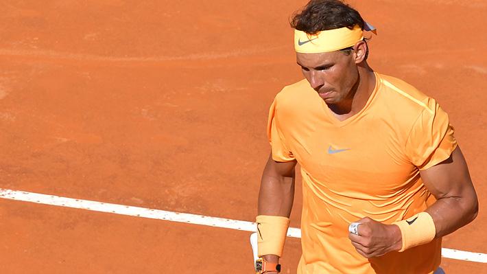 Nadal vence con autoridad en el reencuentro con Djokovic y pasa a la final del Masters de Roma