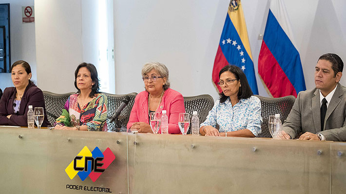 """Consejo Nacional Electoral de Venezuela asegura que la evaluación del sistema fue """"perfecta"""""""