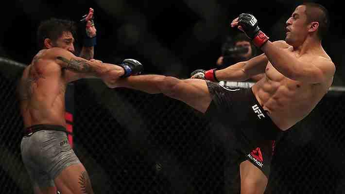 Los KO más brutales y las mejores imágenes que dejó la Fight Night de la UFC que se realizó en Chile